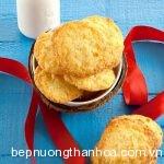 Bánh quy dừa nhâm nhi với trà sữa cực ngon